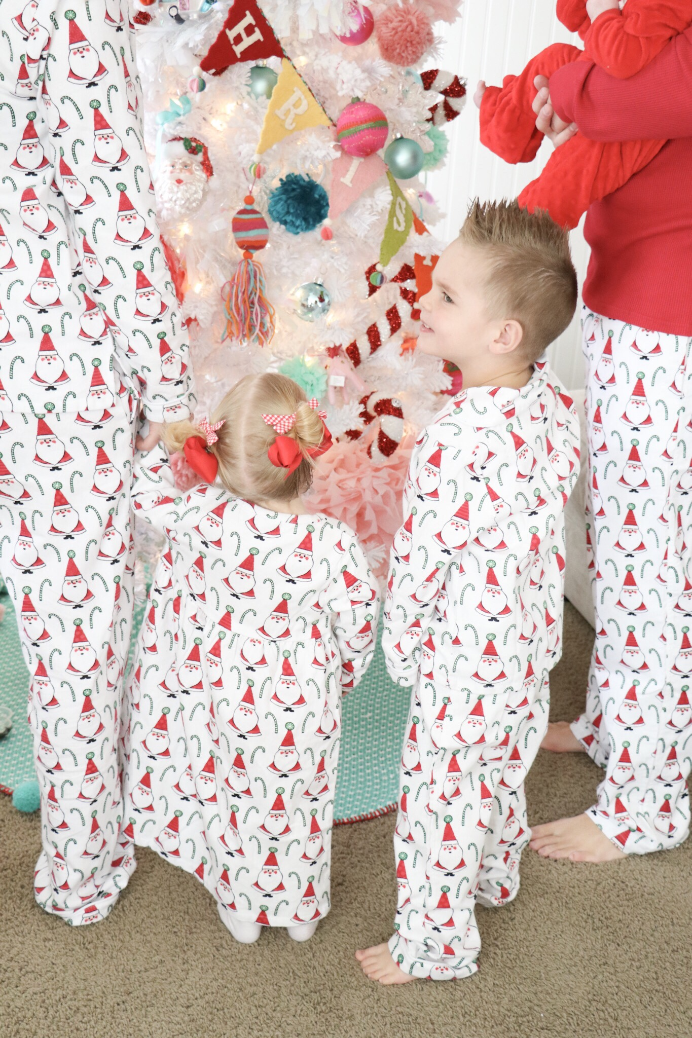Matching Family Christmas Pajama's with The Company Store