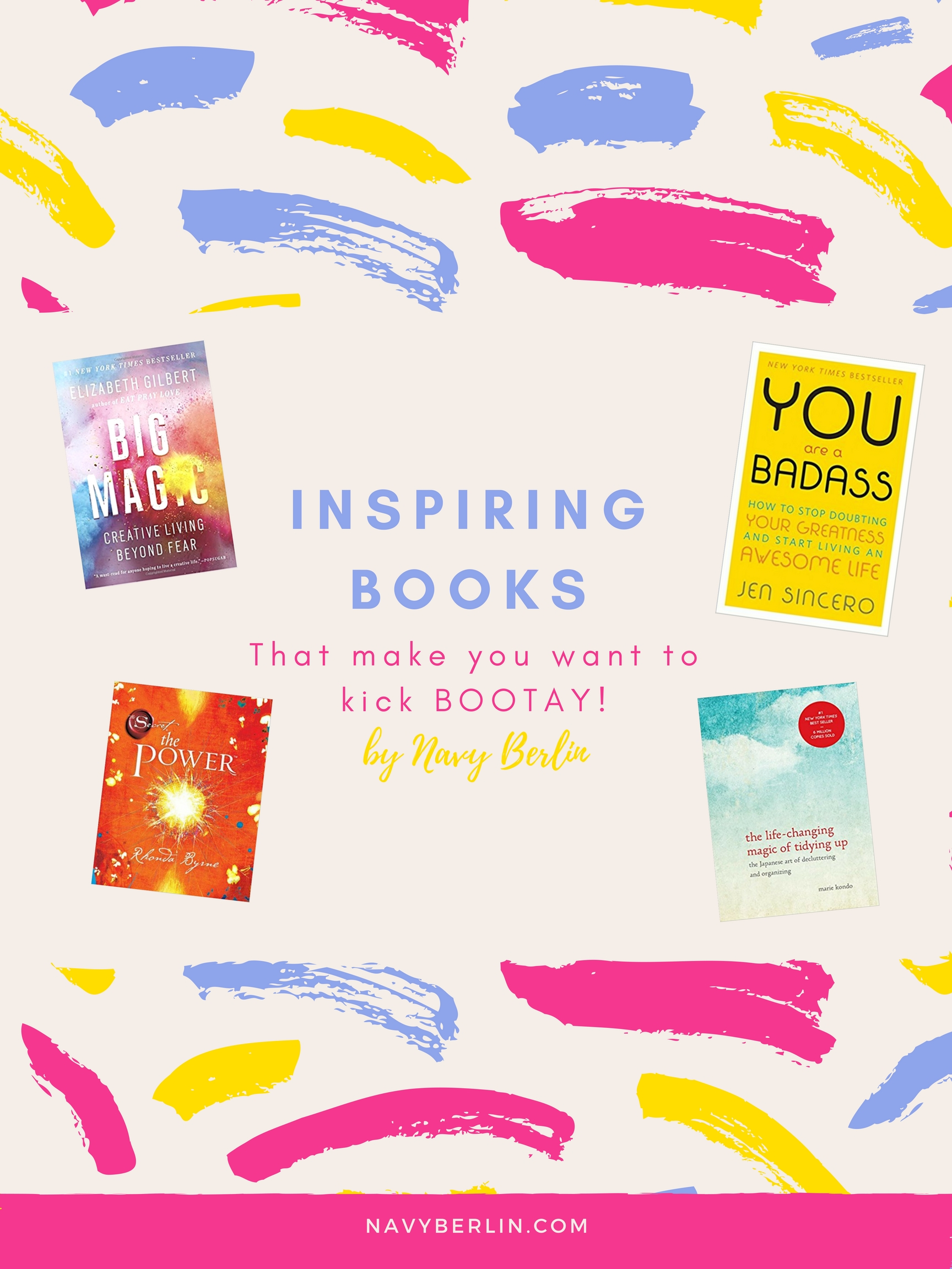 Top Inspiring & Self Help Books- New Year, New You!
