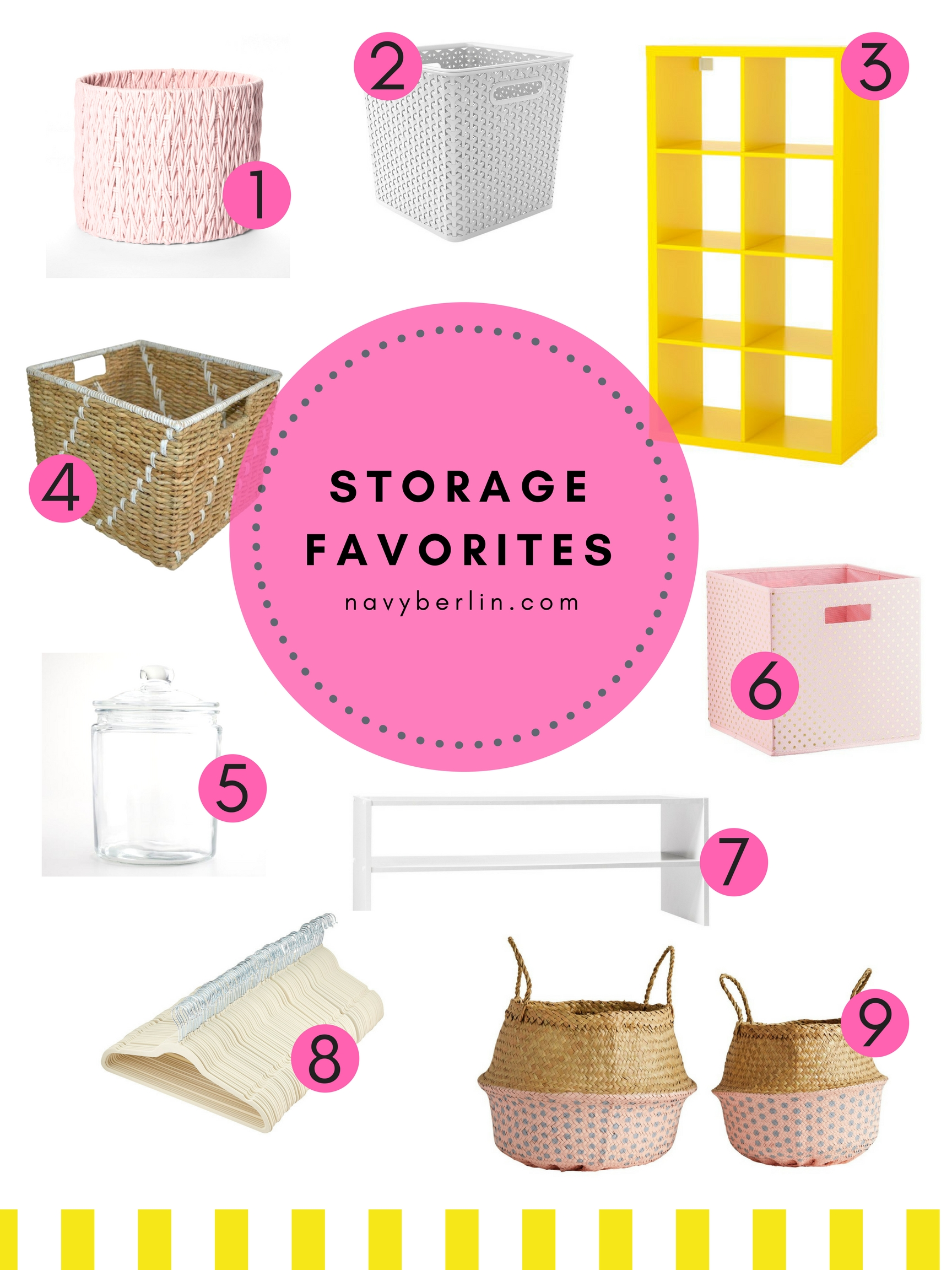 Storage Favorites