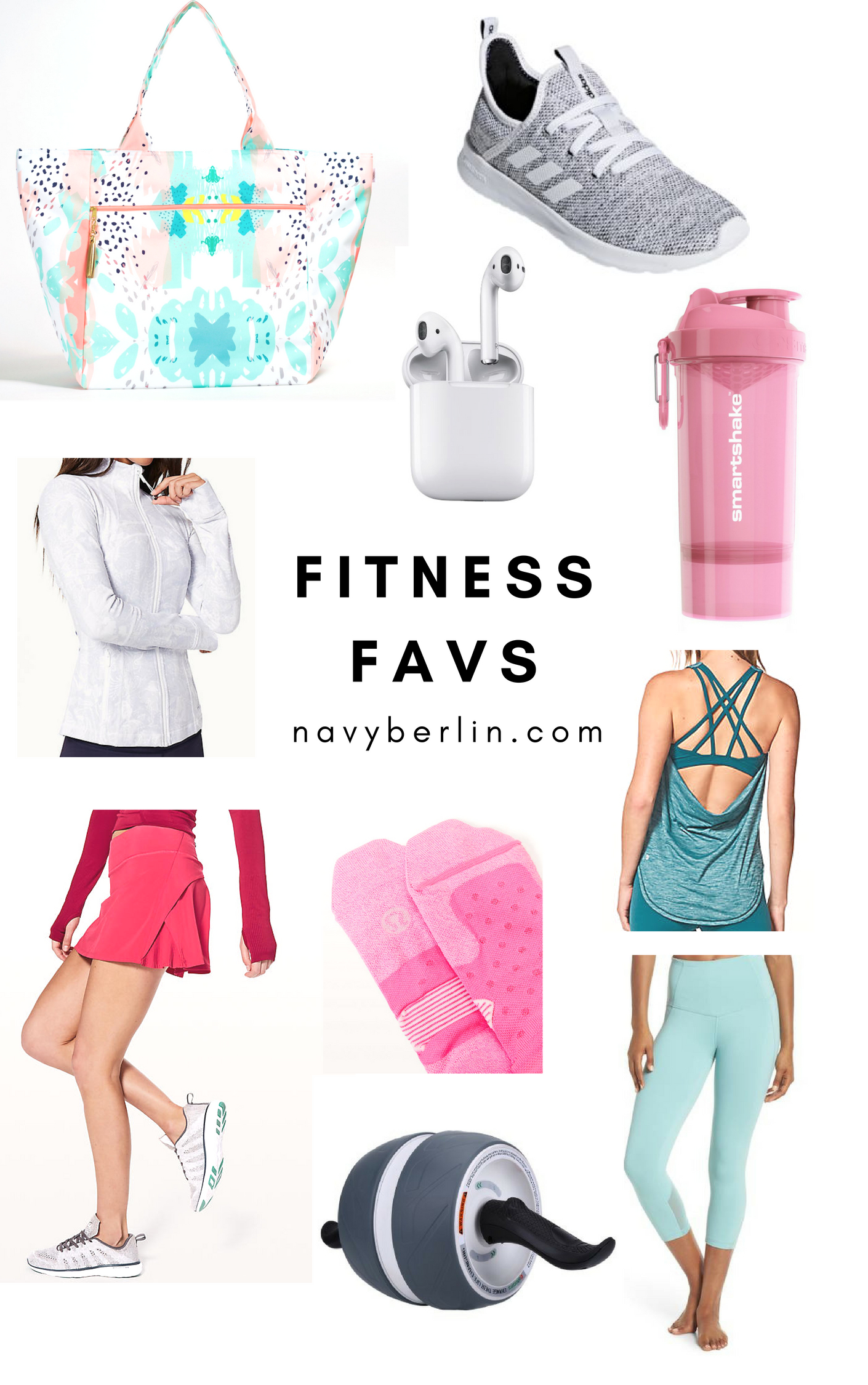Fitness Favorites and Workout Clothes
