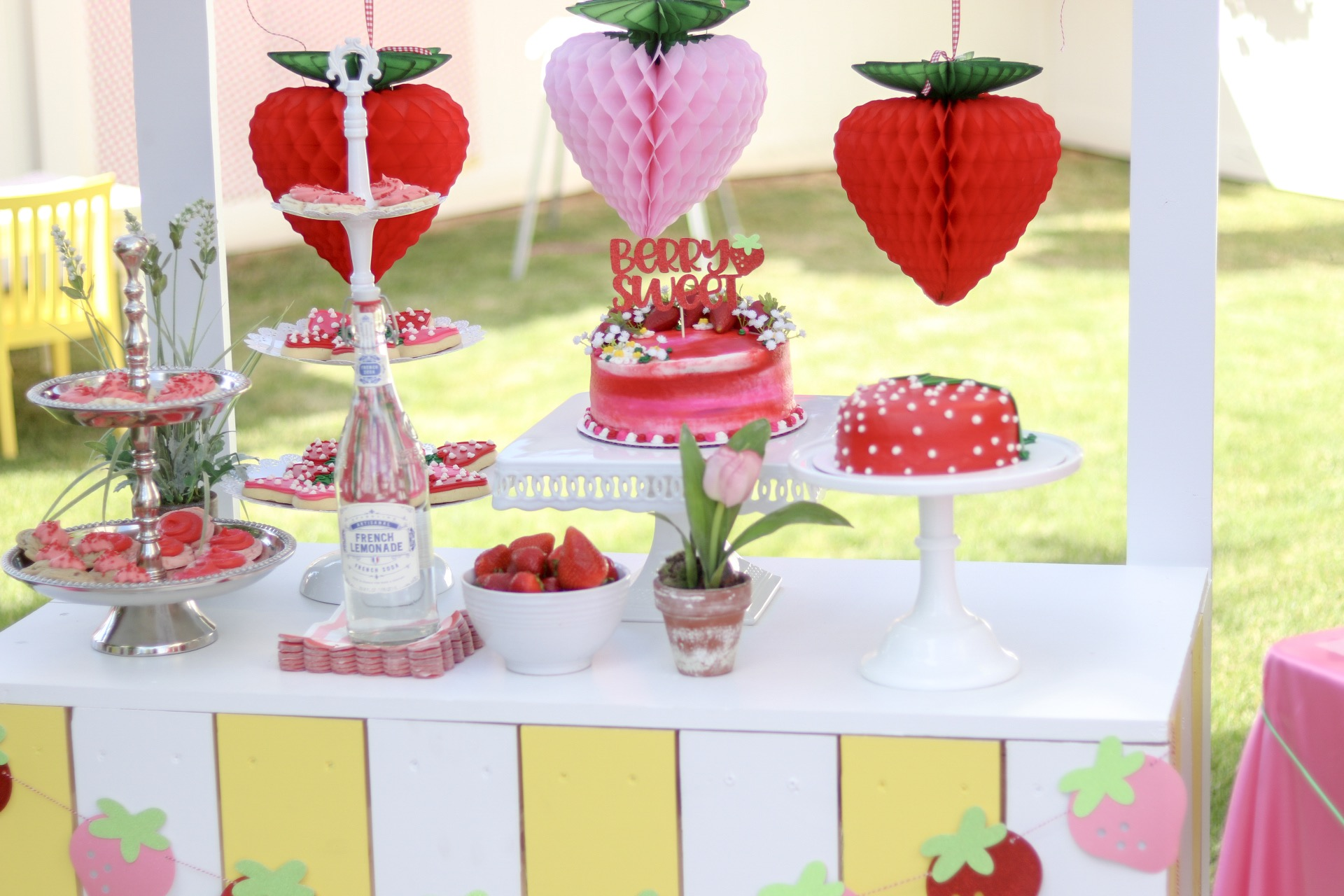 Ruby's Berry Sweet First Birthday Party