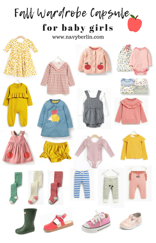 Fall Fashion – Baby Girl Wardrobe Capsule