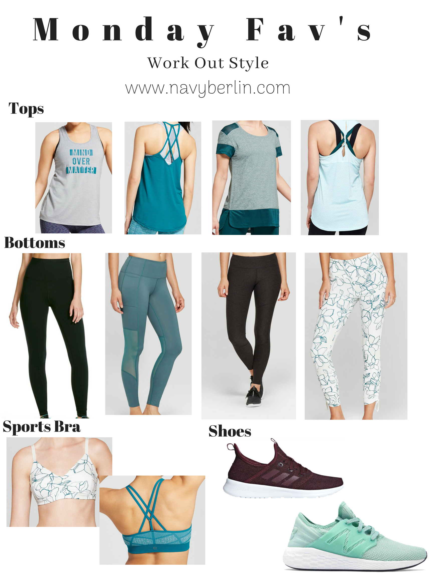 Monday Favorites – Work Out Style