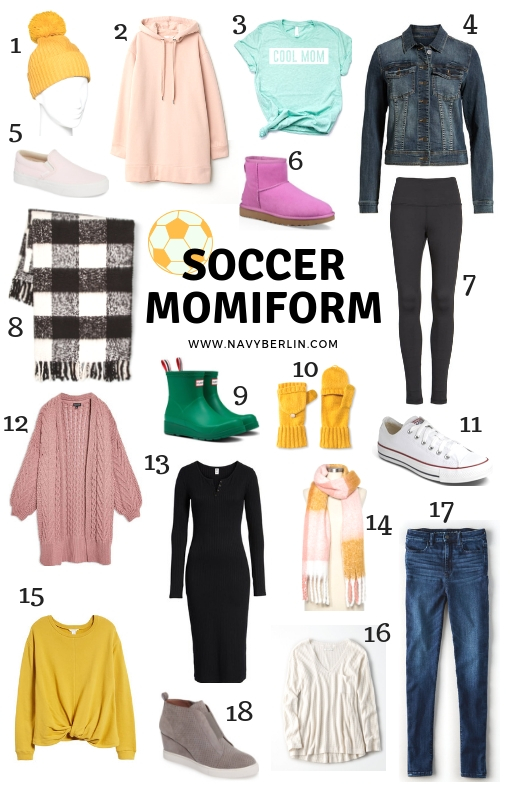 The Perfect Outfit Ideas for Soccer Mom's
