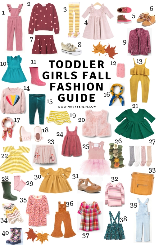 Toddler Girls Fall Fashion Guide