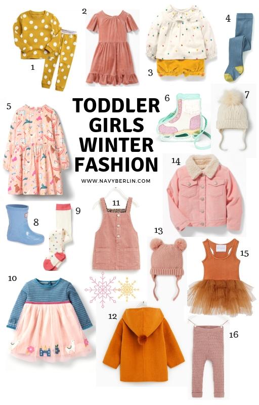 Toddler Girls Winter Fashion