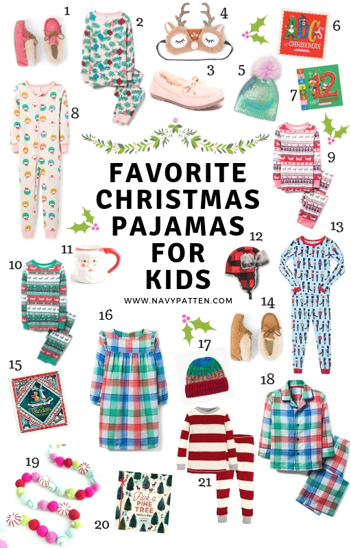 Kids Christmas Pajama's