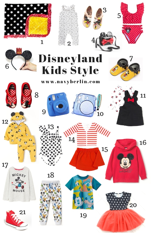 Kids Disney Style – Dressing For Disneyland