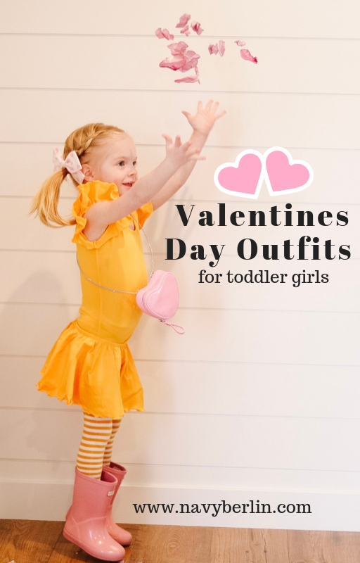 Valentines Day Outfits for Toddler Girls