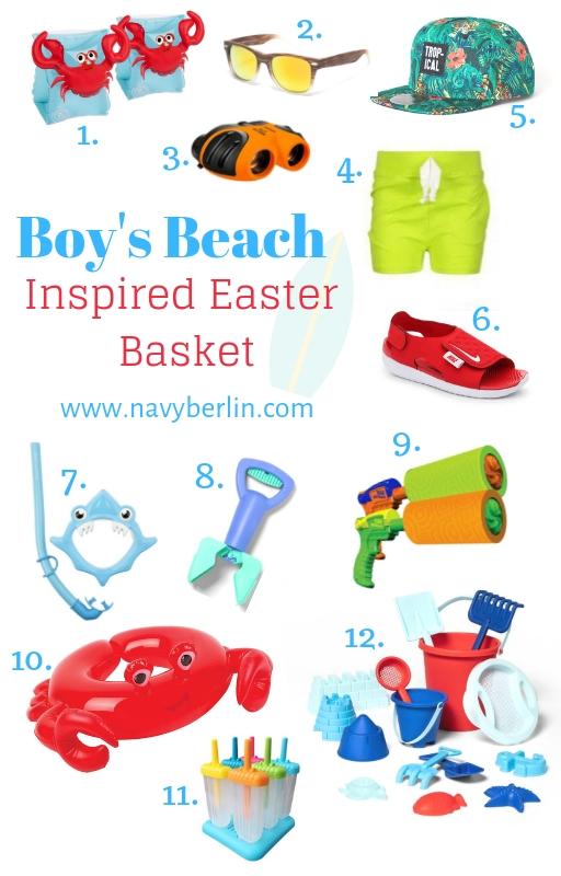 Boys Easter Basket – Beach Inspired