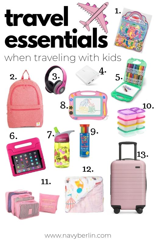Travel Essentials With Kids