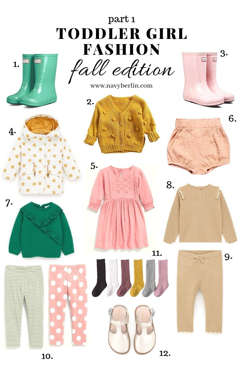 Toddler Girl Fall Fashion