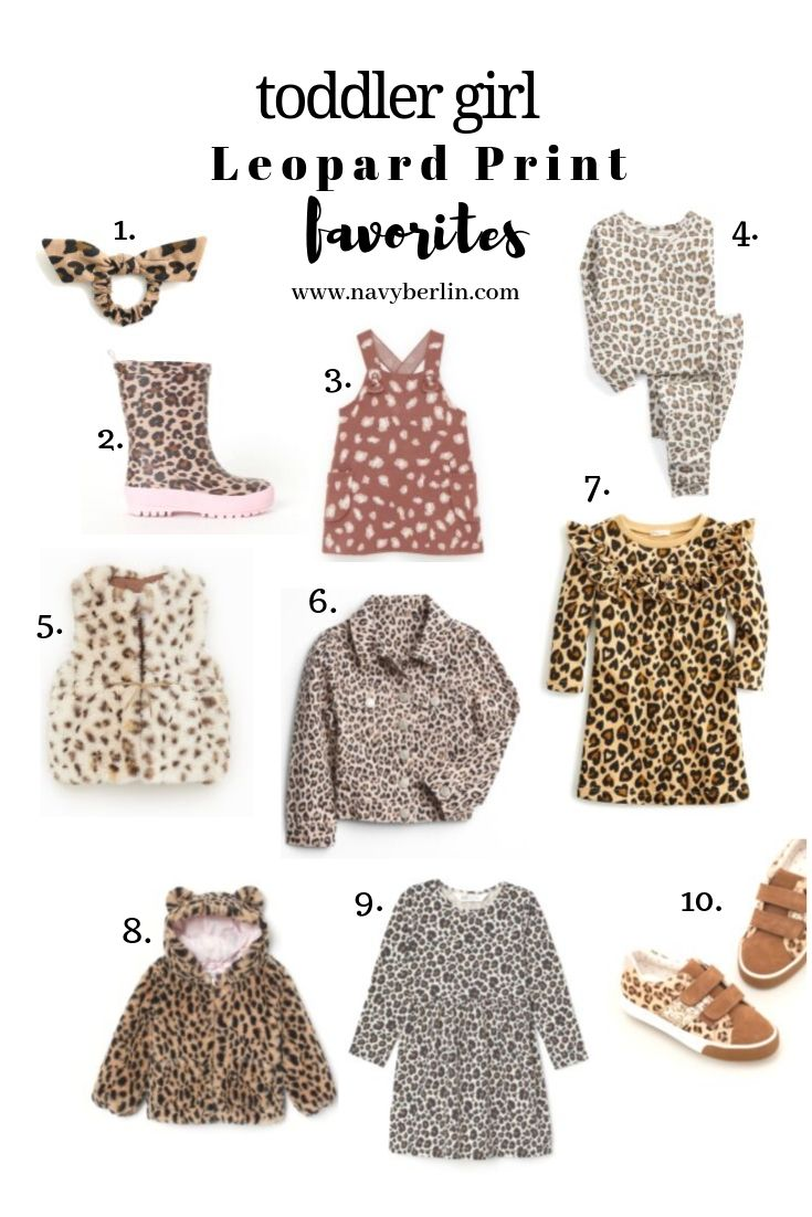 Toddle Girl Leopard Print Favorites
