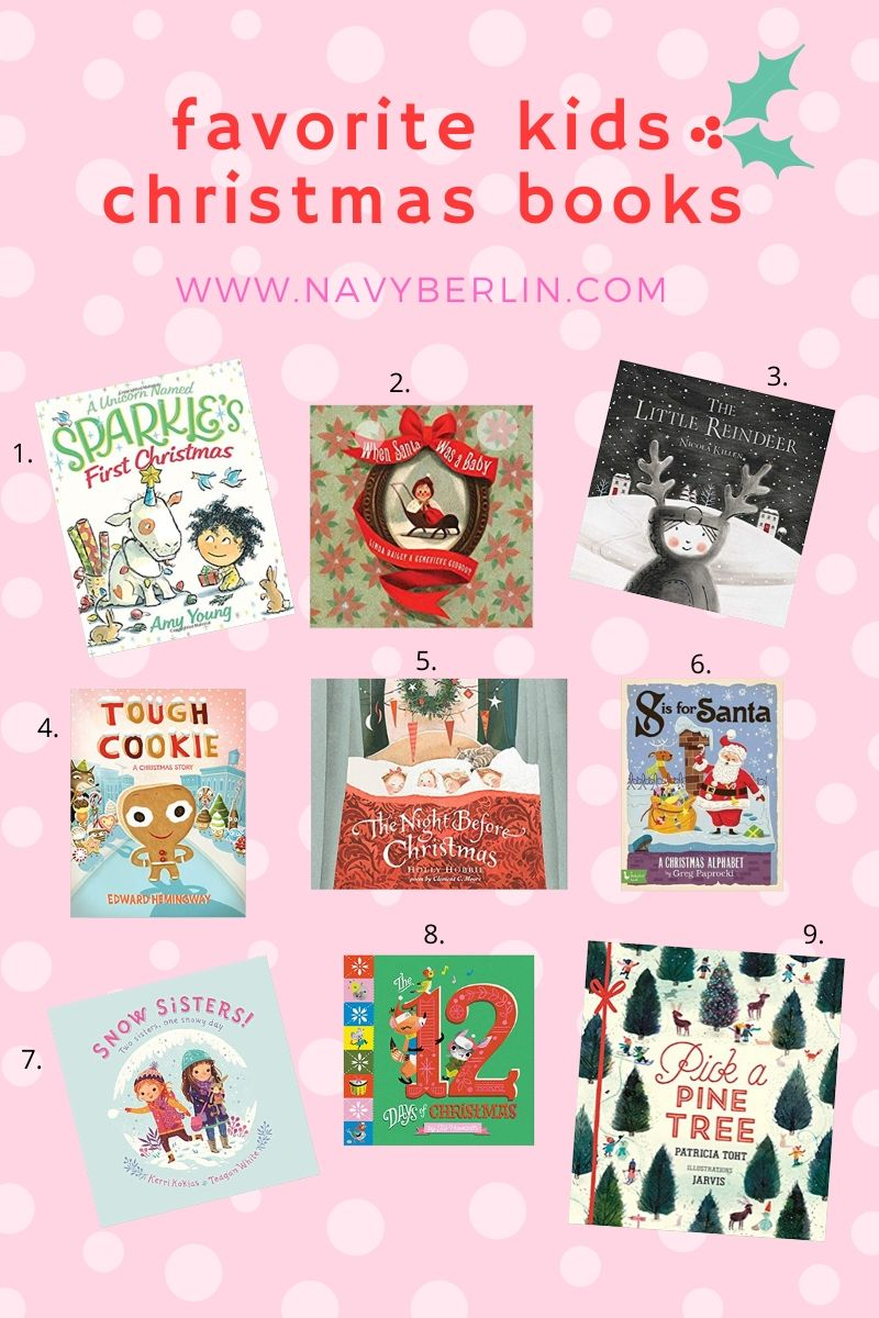 Favorite Kids Christmas Books