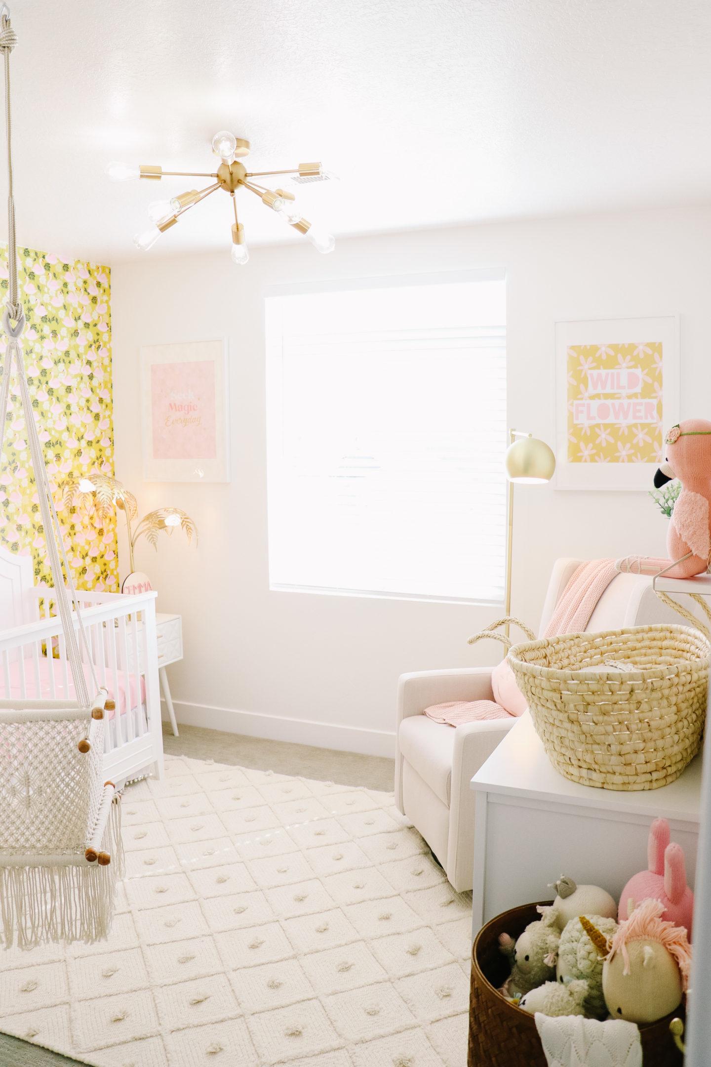 Baby Gemma's Nursery Reveal