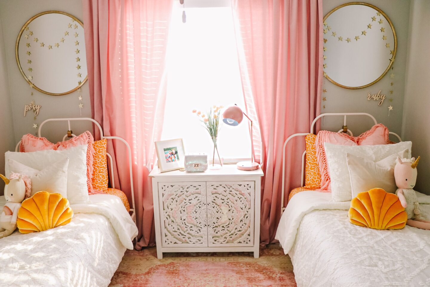 Girls Shared Bedroom Revamp with DHP Furniture