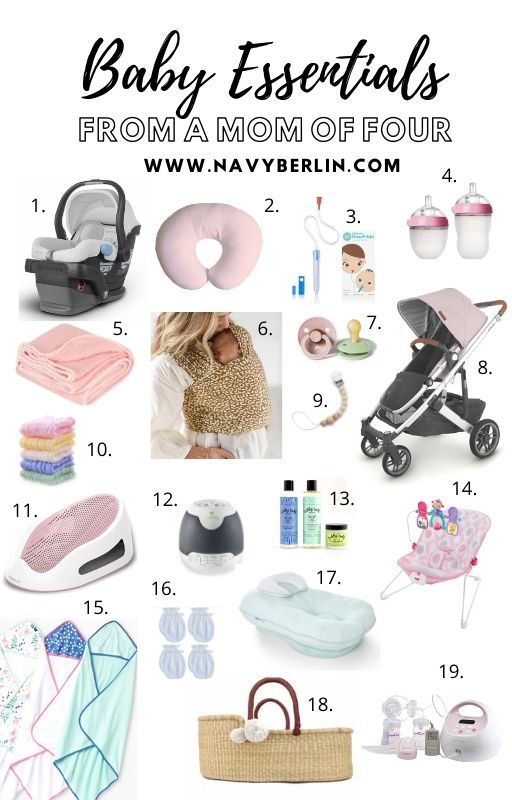 Baby Essentials from a Mom Of Four