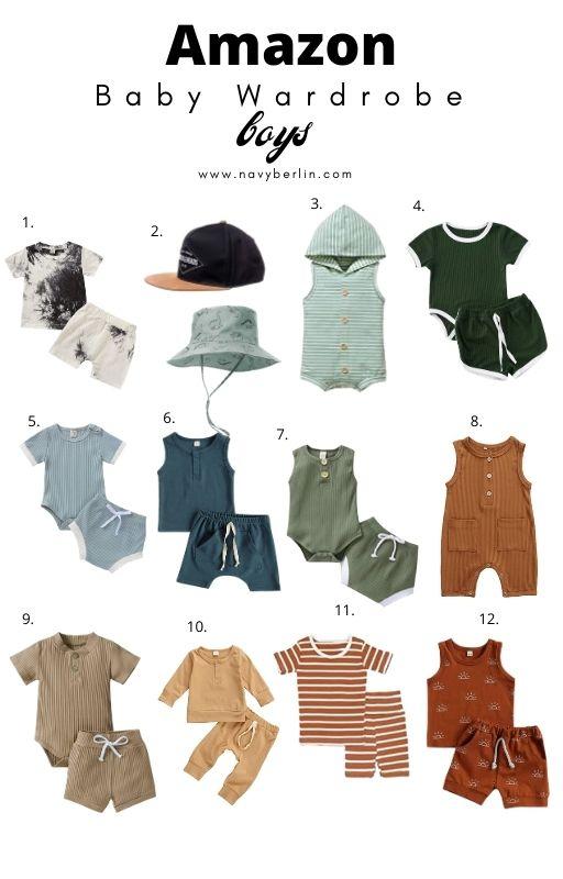 Amazon Favorites – Baby Boy Wardrobe
